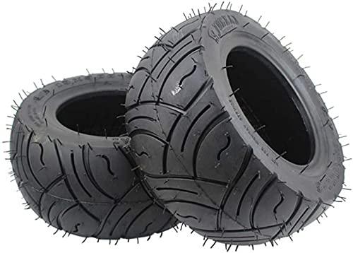 JJDSN Neumáticos de Scooter eléctrico Ruedas duraderas, 13x5.00-6 Neumático de vacío a Prueba de explosiones, Antideslizante y Resistente al Desgaste, Adecuado para reemplazo de neumáticos de Kart