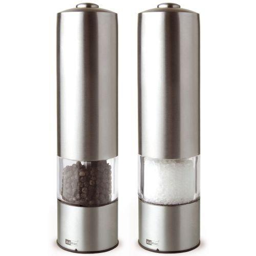 AdHoc Ontwerp EP04 peper- en zoutmolenset elektrisch - Pepologie - (2-delig)