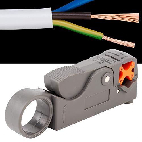 【𝐂𝒚𝐛𝐞𝐫 𝐌𝐨𝐧𝐝𝐚𝒚】Wire Stripper, Cable Cutter Mini Portable Wire Stripper Knife Crimper Pliers Cable Wire Cutters Stripping Crimping Tool