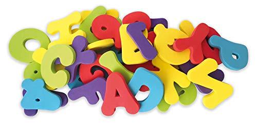 Nûby - Spielzeug Bade-Buchstaben, mehrfarbig, ID6187, 12 Monate