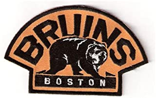 Boston Bruins with Bear Team Logo Shoulder Jersey Patch