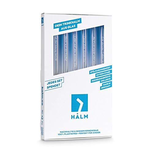 Halm Glasstrohhalme - 3