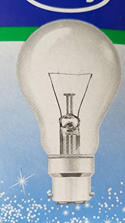 Leuci Glühbirne Glühlampe 60 W Goccia B22 Klar 10 Stück