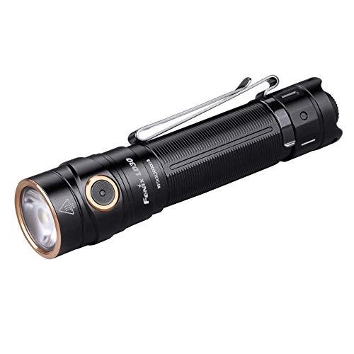 Fenix Flashlights by LightMen Aluminium LED 1600 Lumens 3500mAh USB Battery Included, EDC Flashlight Everyday Carry Rechargeable Torch