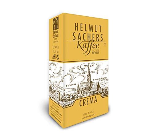 Helmut Sachers Kaffee Crema, gemahlen, 500 g