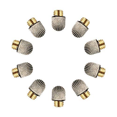 Elzo Punte Fibra di Ricambio, Puntali Sostituibili in Stilo con Nanofibre/Microfibra per ELZO Pennino Capacitivo Stilo Penna, Confezione da 10
