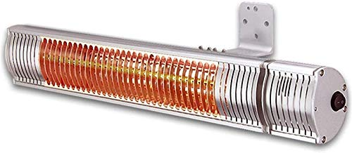 KANGSHENG 2000W/3000W Wall-Mounted Electric Outdoor Garden Patio Heater Waterproof (Color : 3000W)