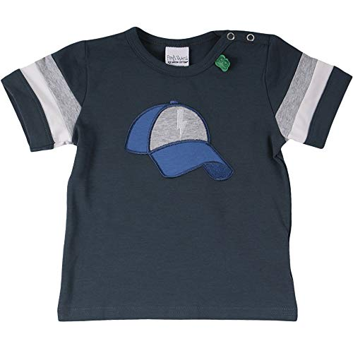 Fred's World by Green Cotton Skate Cap S/s T Baby Camiseta, Azul (Midnight 019411006), 98 para Bebés