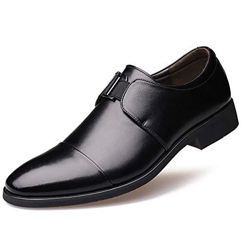 Zapatos de Cuero para Hombres Traje de Negocios Cuero Suave Zapatos Casual de Ciudad Zapatos de Ejercicio Casual.