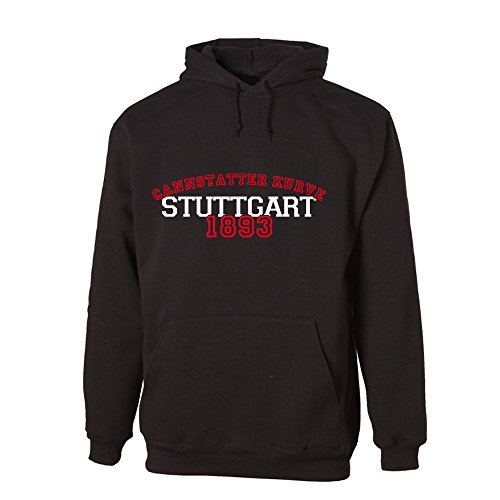 G-graphics Cannstatter Kurve Stuttgart 1893 Lightweight Hooded Sweat (078.244) (L)