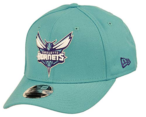 New Era Charlotte Hornets 9fifty Stretch Snapback Cap NBA Essential Turquoise - One-Size
