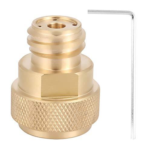 Brass Adapter Messingadapter - Umbau des Tankbehälters Messing-CO2-Adapter Ersetzen Sie den Umbau des Tankbehälters für Sodastream (Farbe : Gold)