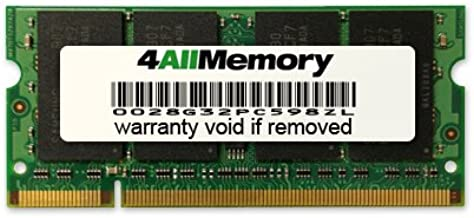 4GB DDR2-667 (PC2-5300) RAM Memory Upgrade for the Toshiba Satellite M205-S7453
