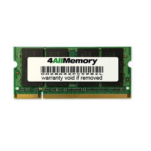 4GB DDR2-667 (PC2-5300) RAM Memory Upgrade for the MSI Computer Corporation Entertainment Series EX300-018US