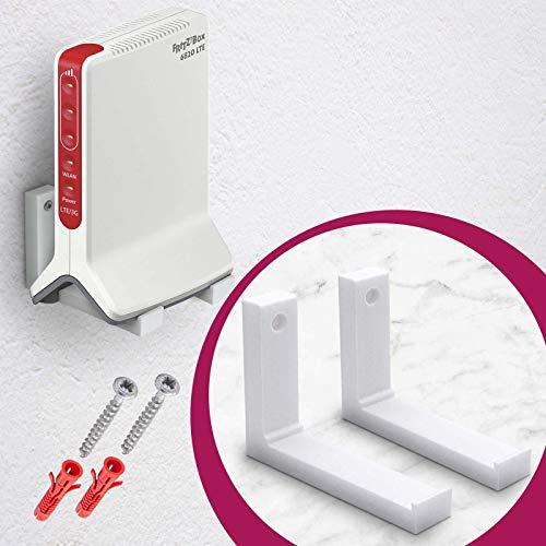 MOBILEFOX Repeater Wandhalterung Router Halter für Fritzbox Mesh 3000 und Fritzbox 6820