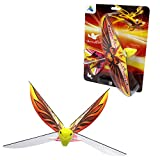 MUKIKIM Self Flying eBird Orange Phoenix - Electronic Flying Bird Drone Toy. Adjust The Rudder to Make The Flapping Wings Bird Fly Forward and Back to You. 3 Flying Models! No Remote Control Needed