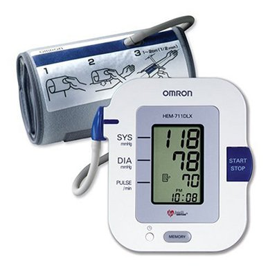 Upper Arm Auto Inflate Blood Pressure Unit, Fits Arm 9' - 17'
