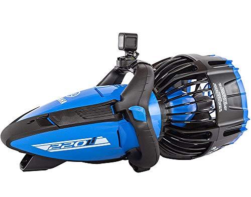 Zee Scooters | Professionele Duikserie | 220Li | Onderwaterscooter | Automatisch Drijfsysteem | Ontworpen voor Zout Water | Klasse Kracht en Snelheid.