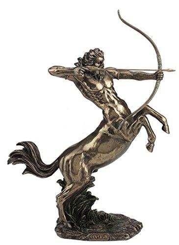 14.5' Centaur Shooting Arrow Statue Greek Mythology Sculpture Figure Figurine