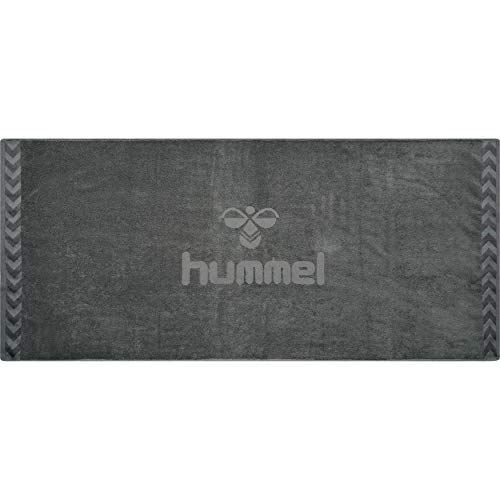 hummel Big Old School Towel Handtuch, Asphalt, 160x70 cm