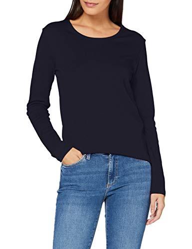 Cecil B315349 T-Shirt, Bleu foncé, M Femme