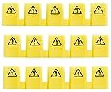 Hager Berührungsschutzabdeckung KZ059 Zubehör für Niederspannungs-Schalttechnik (3er Set) (3)