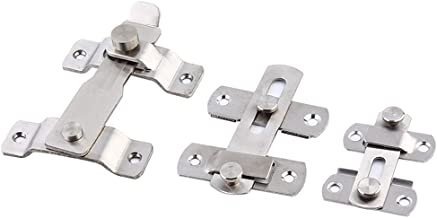 Instant geïnstalleerde roestvrijstalen deur gesp, schuifdeurgesp, deurklink, ming deur, antidiefstal beveiligingsgesp-Groot