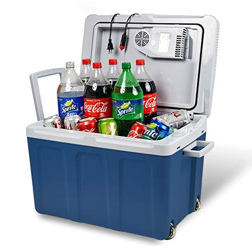 Electric Cooler and Warmer for Car and Home with...