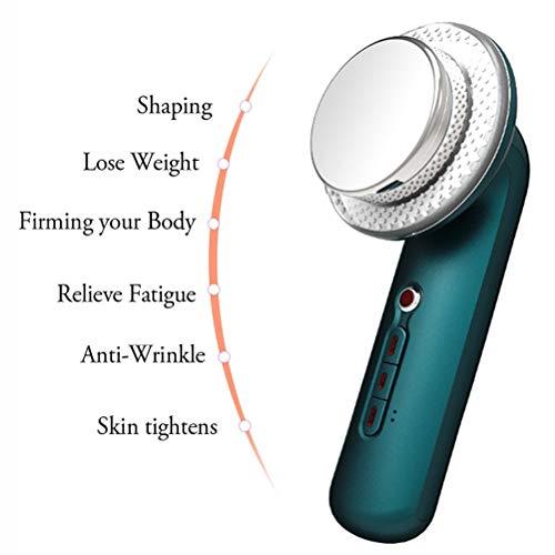 DOUBLX 3 dans 1 brûleur de Perte de Poids de Machine de Ventre Infrarouge d'EMS Anti Cellulite Remover Weight Loss Skin Tightening Device,Vert