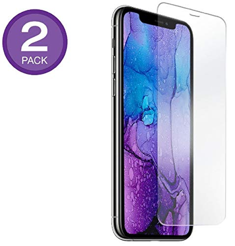 Monoprice iPhone 11 Pro 5.8 Glass Screen Protector (2 Pack) Case-Friendly Fit, Camera and Sensor Compatible - Form Collection