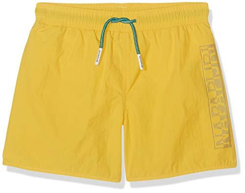 Napapijri Jungen K Varco Freesia Yellow Badehose, Gelb (Freesia Yellow Ya7), 164 (Herstellergröße: 14)