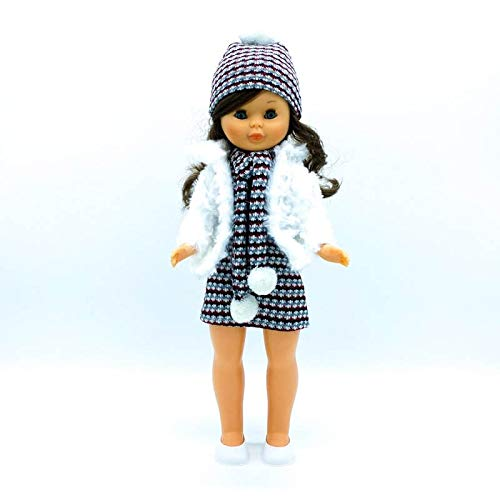 Folk Artesanía Vestido, complementos, Zapatos Percha para muñeca Nancy clásica Famosa. Fabricado...