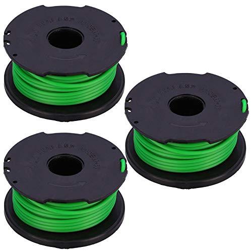Spares2go Nachfüllspule und Faden für Black + Decker GL7033 GL8033 GL9035 STB3620L Rasentrimmer (3 Stück)