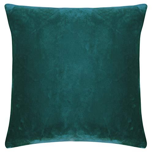 Pad - Kissenhülle - Kissenbezug - Smooth - Samt - Petrol/blau - 50 x 50 cm