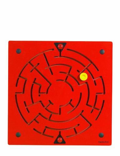 Beleduc - 23610 - Jeu D'exploration - Élément Mural - Labyrinthe