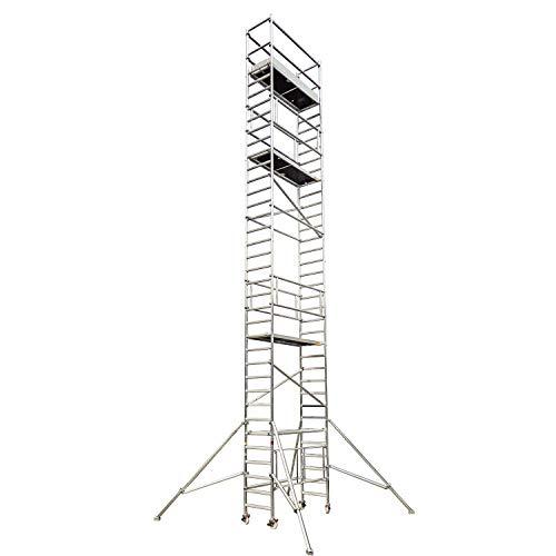 Profigerüst: ALTEC AluKlik 1200, Arbeitshöhe 12 m, TÜV-geprüft