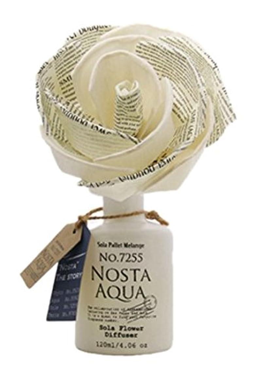 ブローホール木材つぶすNosta ノスタ Solaflower Diffuser ソラフラワーディフューザー Aqua アクア/生命の起源