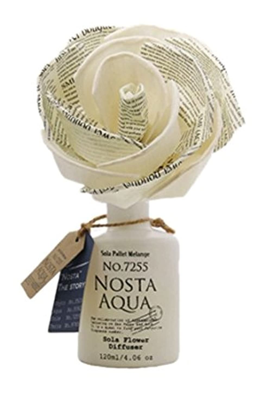 数学者酸化するチューインガムNosta ノスタ Solaflower Diffuser ソラフラワーディフューザー Aqua アクア/生命の起源