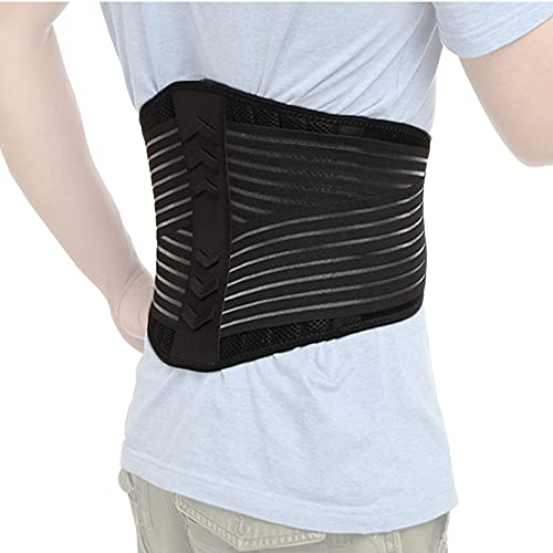 CFR Cinturón Lumbar, Soporte Lumbar, Protección para Lumbar, para Gimnasio, Ejercicio y Entrenamiento, Trabajo