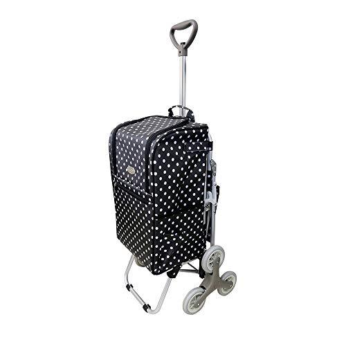 ショッピングカート 椅子付き 3輪構造キャスター