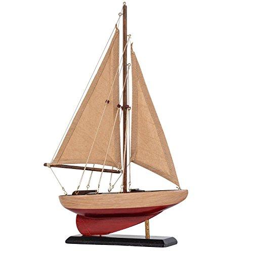 Modelo de Nave velero Modelos de Barcos Madera 40cm Estilo A