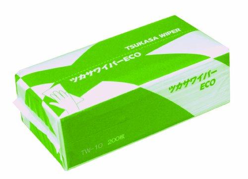 司化成工業 ツカサ ツカサワイパー(ペーパータオル)TW-10 (40Pk) TW-10 1ケース(8000枚) 792-2931