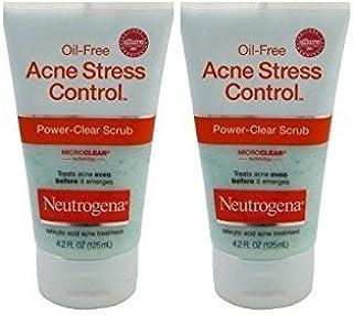 Neutrogena Acne Stress Control Power Clear Scrub 4.2oz (2 Pack)