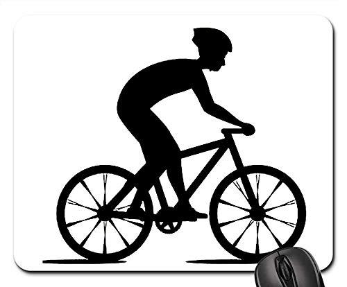 Mousepad Radfahren Fahrrad Männer Sport Vektor Fahrrad Reifen Schreibtisch Diy 25X30Cm Mauspads Tisch Computer Standardgröße Spielmatte Robuste Gummimaus Matte Retro Bedruckte Tas