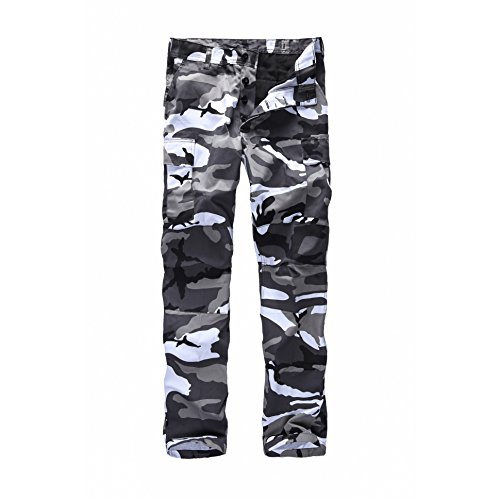 BACKBONE Mens Fashion Bright Camouf…