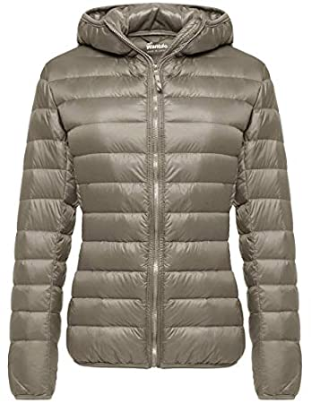 Wantdo Women's Hooded Ultra Light Short Down Jacket