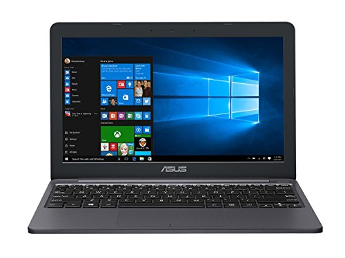 Asus E203 Intel Celeron 4GB 64GB eMMC 11.6' Win10 S Laptop - With 1 Year Microsoft 365 Personal