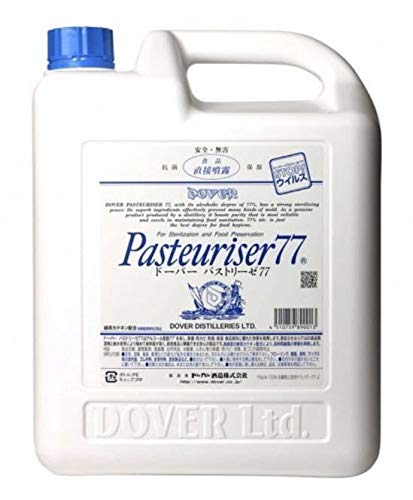 ドーバー パストリーゼ77 5L 緑茶カテキン配合 発酵77% エタノール製剤