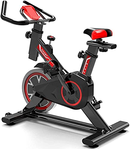 Indoor Ejercicio Bicicleta Cardio Entrenamiento Hilado Bicicletas para Ciclismo casero Bicicletas Gimnasio Bicicletas con aplicación de Juego / sensores de frecuencia cardíaca / Volante / Soporte