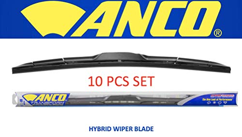 """ANCO T-20-UB Transform Hybrid Wiper Blade - 20"""", (20 inches, (Pack of 10))"""